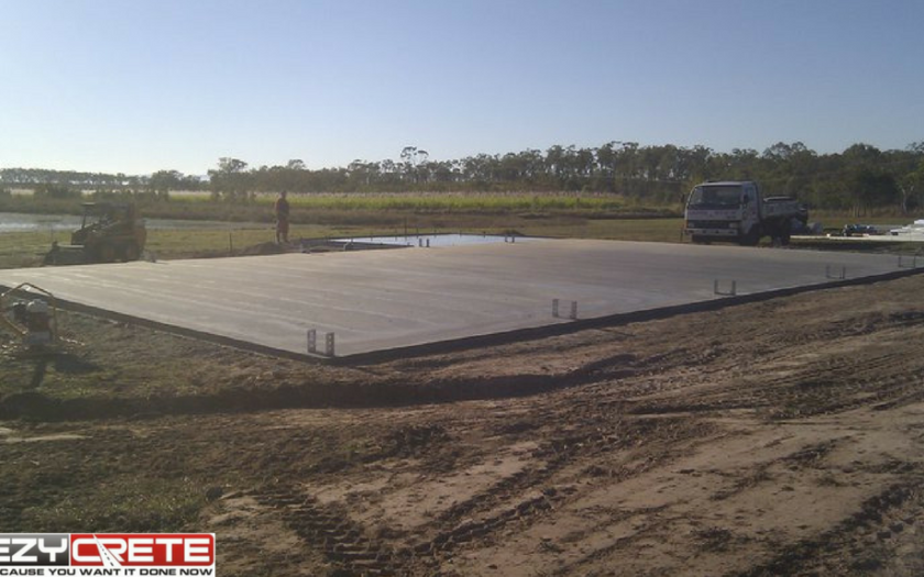 concrete shed slab domestic