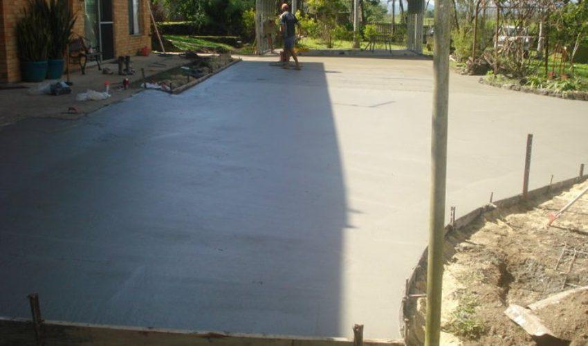Concrete Driveway Proserpine