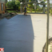 concrete driveway residential